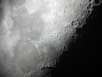 Image of the surface of the Moon from Menke Observatory.