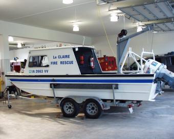 LeClaire River Rescue Boat
