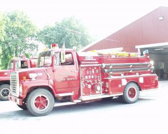 Maysville Fire Engine