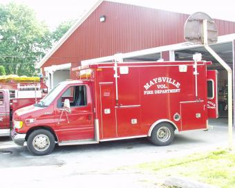 Maysville Fire Rescue Truck