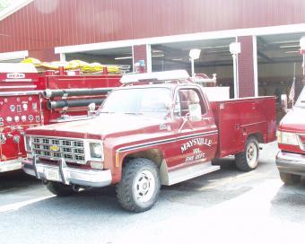 Maysville Fire Truck