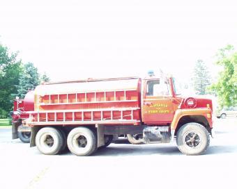 Maysville Truck with Ladder
