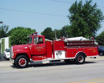 McCausland pumper truck.