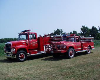 Two firetrucks.
