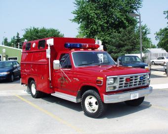 McCausland rescue truck.