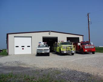 New Liberty trucks and station