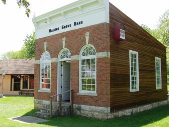 This is the Walnut Grove Bank.