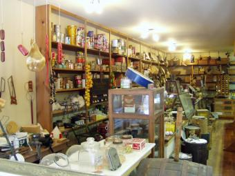 Interior of the Keppy & Nagle General Store