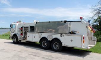 Princeton Fire Truck