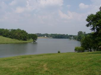 This is lake of the hills.