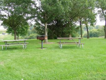This is Windy Knoll picnic area.