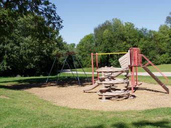 Playground area at Incahias Campground.