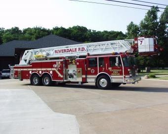 Riverdale Aerial Fire Truck