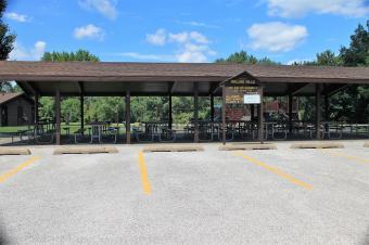Rolling Hills picnic shelter.