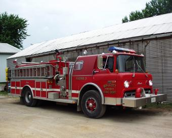 Walcott Fire Engine