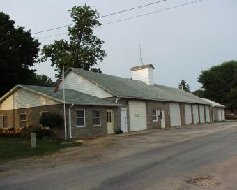 Wheatland ambulance station from angle.