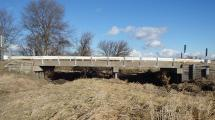 Picture of existing 230th St. Bridge from the side.