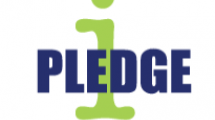 i PLEDGE logo.