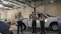 Deputy Slagle and Deputy Johannes Sworn In