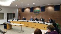 Swearin in Meeting of the Board of Supervisors.