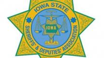Iowa State Sheriff's & Deputies' Association Badge.