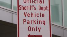 Parking sign.