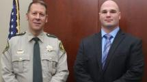 This is the Sheriff and new deputy.