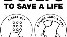 2 Steps to Save a Life. 1. Dial 911 2. Press Hard and Fast