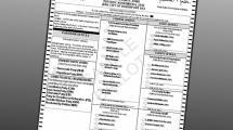 Sample ballot.