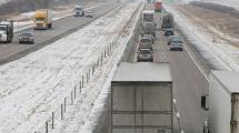 Traffic on Interstate 80