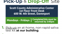 Test Iowa pick-up/drop off details from this webpage