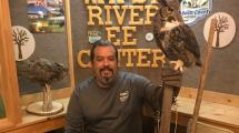 Dave and Bubo the Owl.