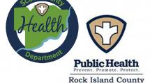 Scott County, Rock Island County Health Department Logos