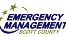 Emergency Management Scott County logo.