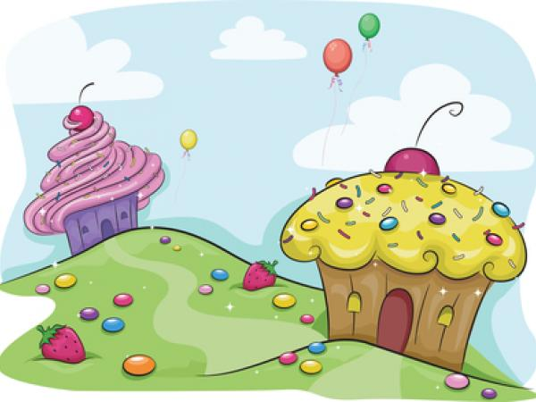 This is cupcake houses.