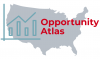 image of united states, a graph, and text: opportunity atlas
